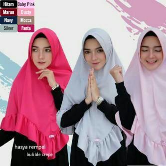 SP465933834 Hijab Jilbab Hasya Rempel - Blanja.com
