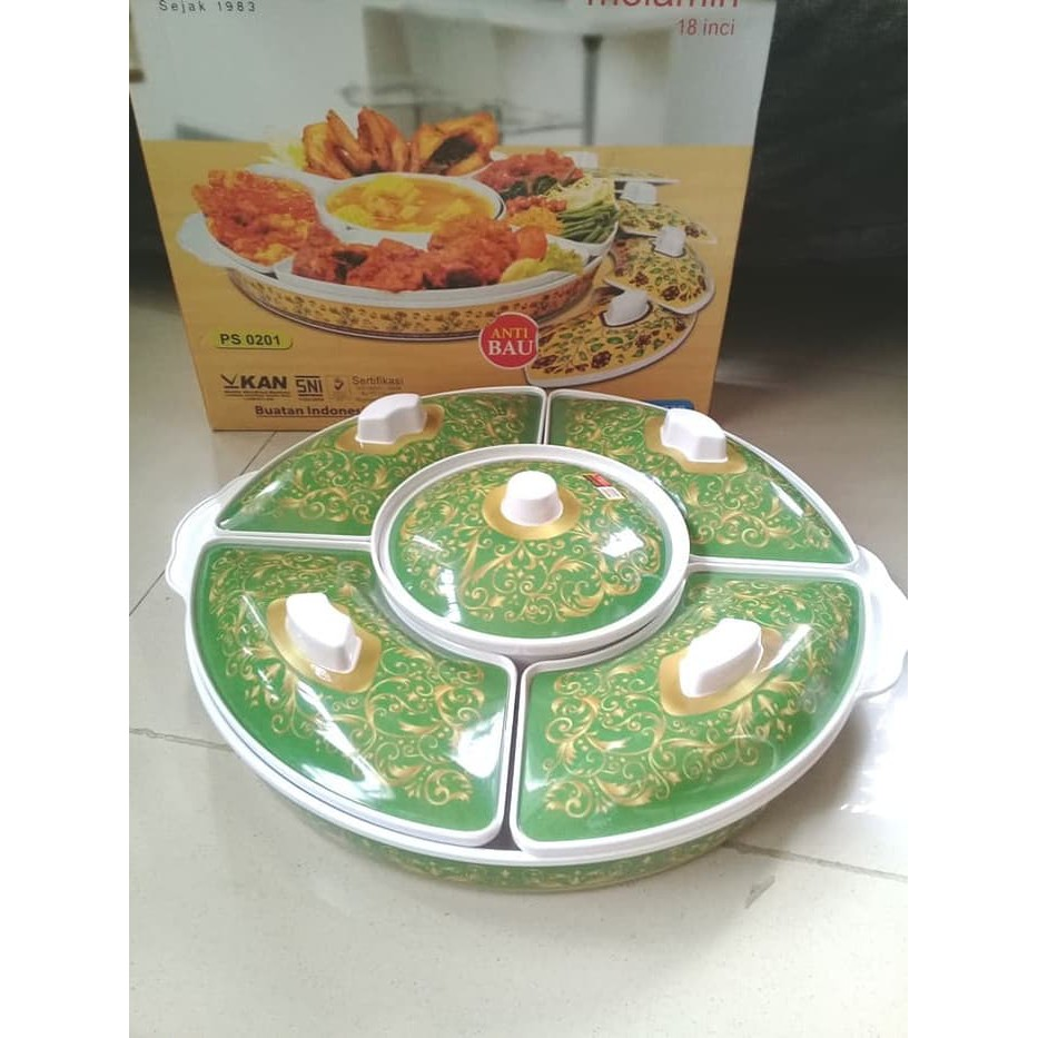 Pemutar Party Set D 27 5cm Melamine Golden Dragon 832 Shopee Indonesia Piring Lodor Oval 12 Inci Putih P5612 Horeka