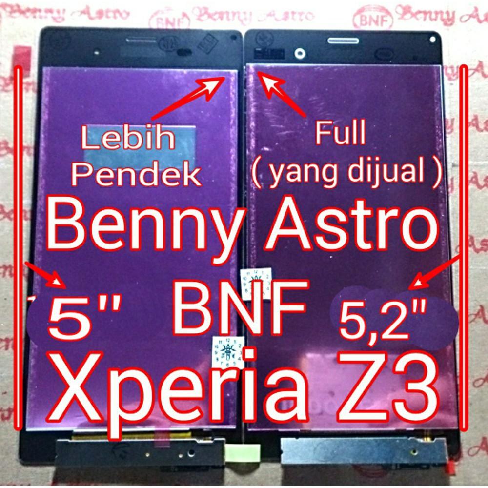 Lcd Touchscreen Sony Xperia Z3 Single Dual D6603 D6653 Fullset Original Putih D6633 D6683 Docomo Full Shopee Indonesia