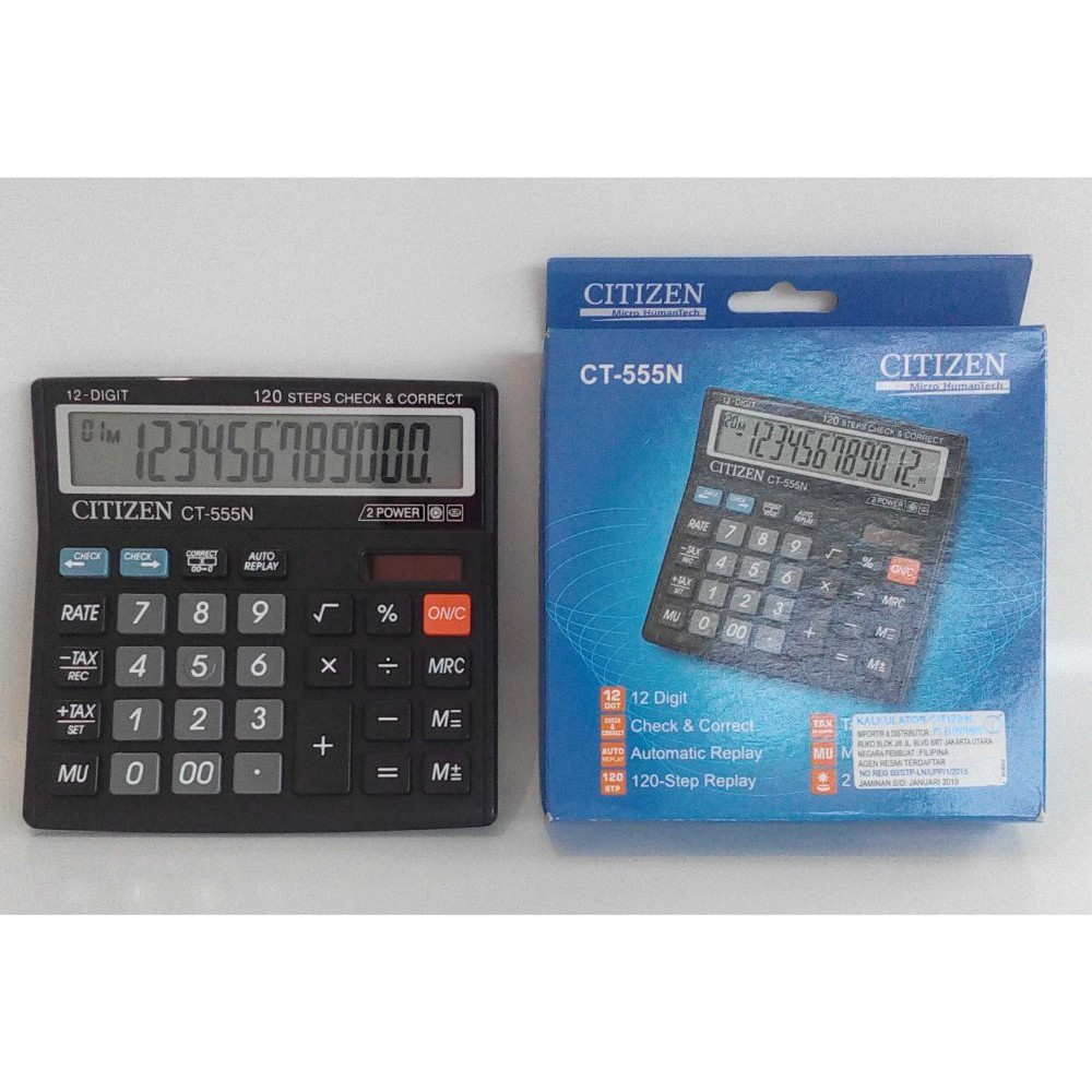 Unik Harga Hemat Kalkulator Citizen Besar 14 Digit Ct 614c Baru Deli 240f Scientific Calculator 10 2 Digits E1710 Sains Berkualitas Shopee Indonesia