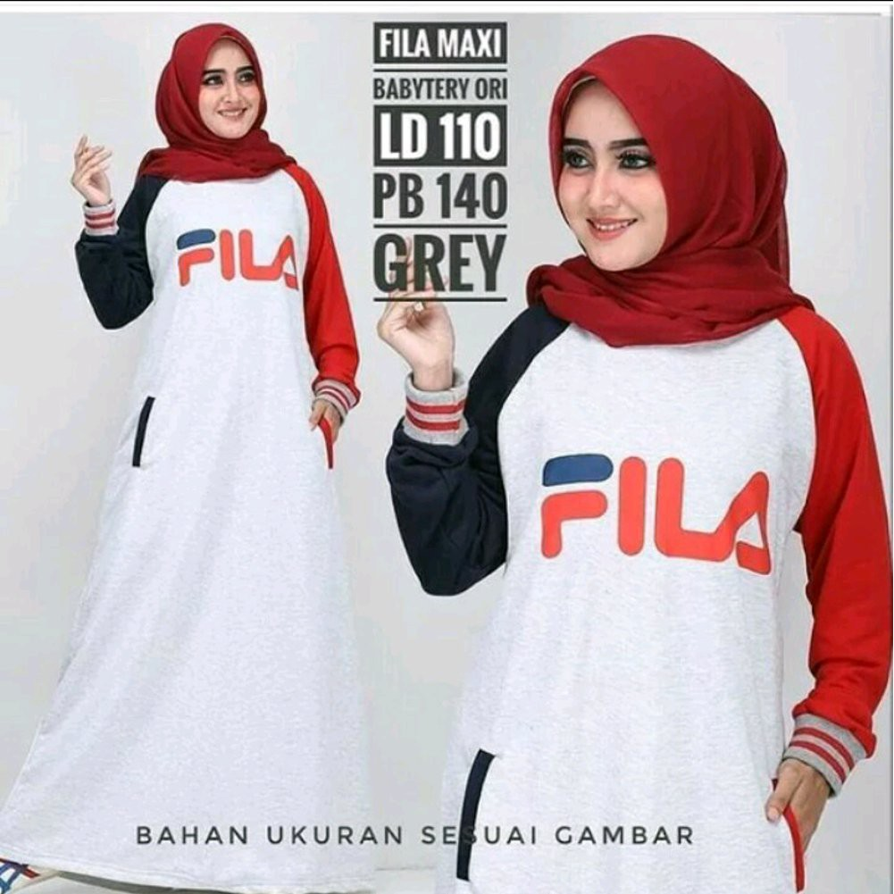 Baju Fila Temukan Harga Dan Penawaran Atasan Muslim Wanita Online