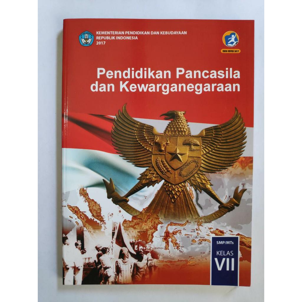 Buku Ppkn Kelas 7 Smp Revisi 2017 Terbaru Kurikulum 2013 Shopee Indonesia