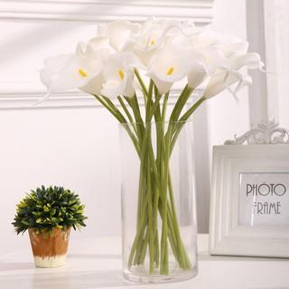 bunga lily latex termurah - bunga lili tulip plastik