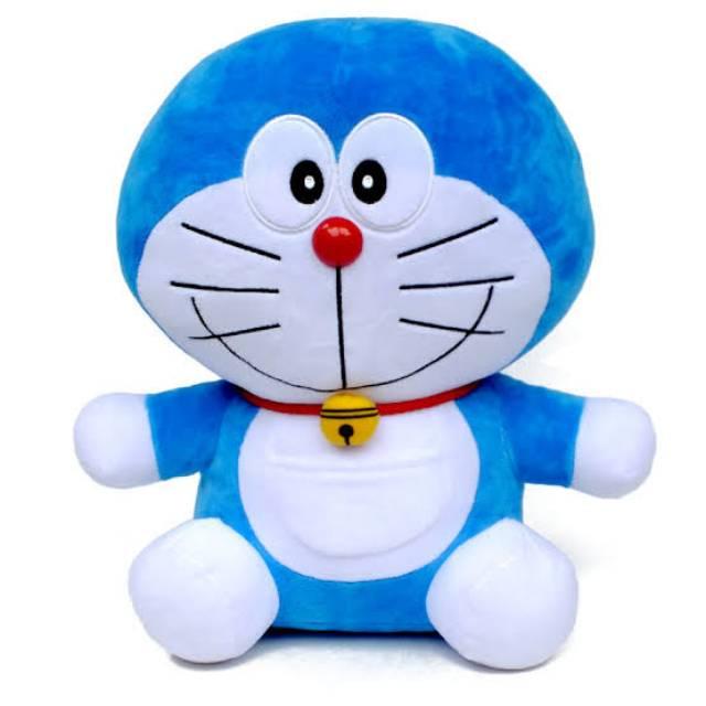 Boneka Doraemon Ukuran Sedang Boneka Dora Emon Boneka Mainan Kado Shopee Indonesia