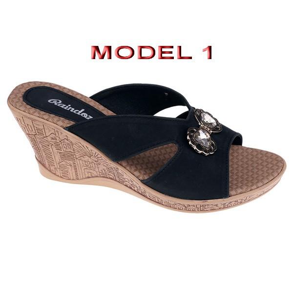 da676b689779 sandal Sepatu Wanita   sandal wedges branded   sandal pesta casual formal  perempuan - murah grc