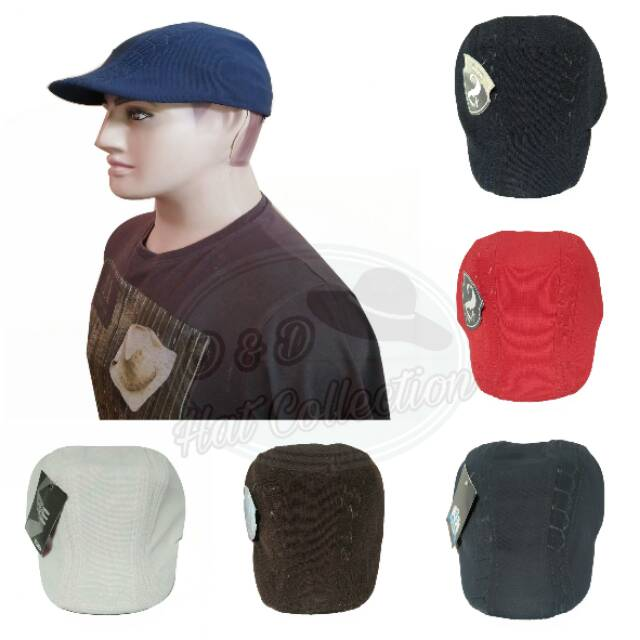 Topi pet   Newsboy Cap   flatcap Bahan Cotton Fleece  432c534c9c