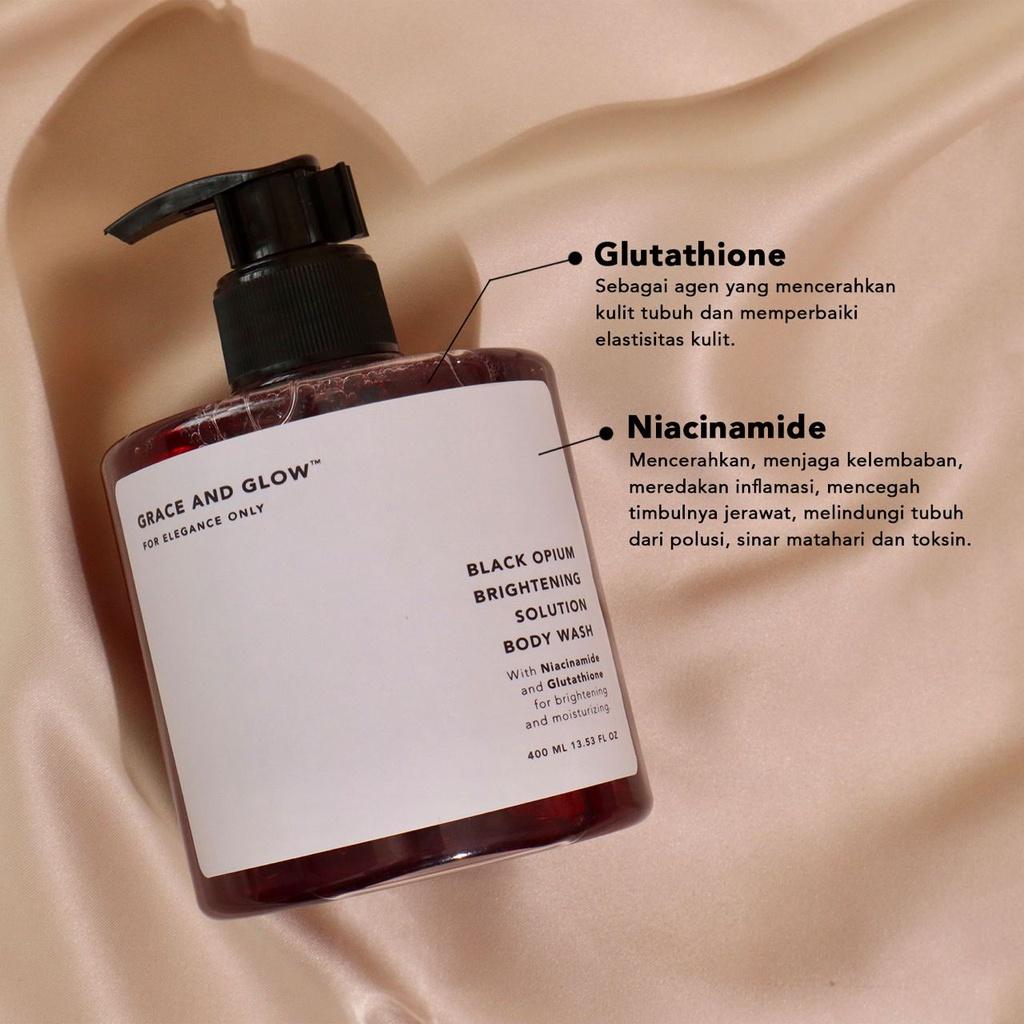 GRACE & GLOW BODY WASH AND SHAMPOO - Jaminan Ori 100%-5