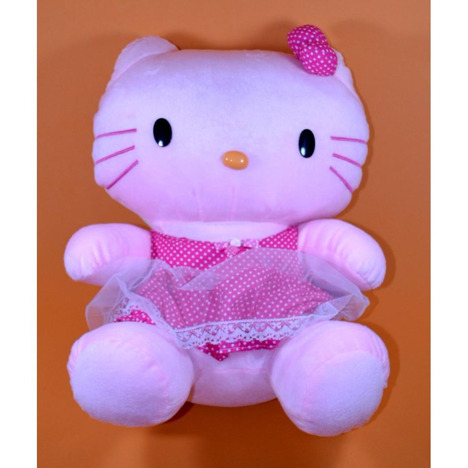 EXCLUSIVE Boneka Hello Kitty Ukuran Medium TERLARIS  b54cc6fdba