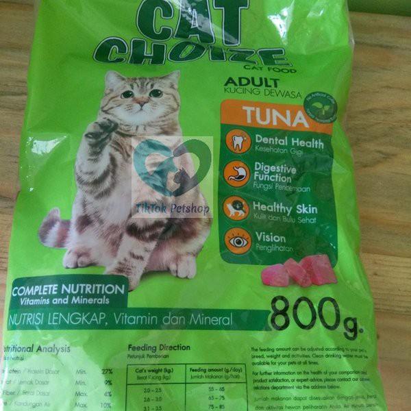 Pakan Makanan Kucing Cat Choize Tuna Murah Untuk Jenis Kucing Kampung Anggora Persia Kemasan Shopee Indonesia