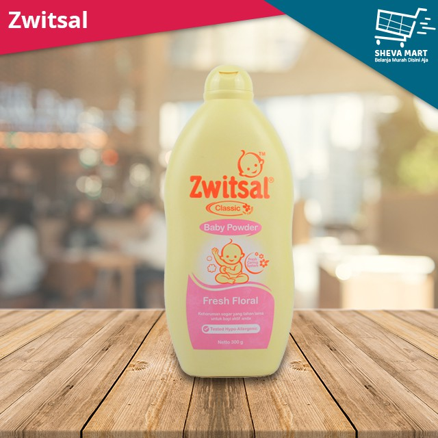 Zwitsal Baby Powder Classic Soft Floral - 300gr Twin Pack | Shopee Indonesia