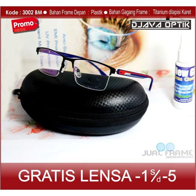 kacamata half frame - Temukan Harga dan Penawaran Kacamata Online Terbaik -  Aksesoris Fashion Maret 2019  aa8f2371ef