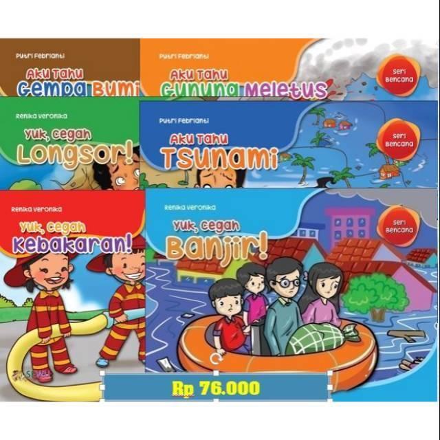 New Product Buku Pintar Mengenal Bencana Alam Di Indonesia Gunung