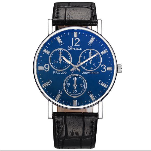 (Dikirim Dari Jakarta) Jam Tangan Pria Geneva Fashion Terbaru Pria Kulit Crocodile Import