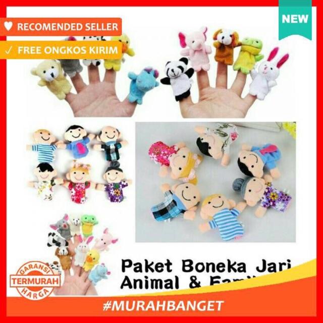 Boneka Jari Tangan Binatang (10pcs)  793598092e