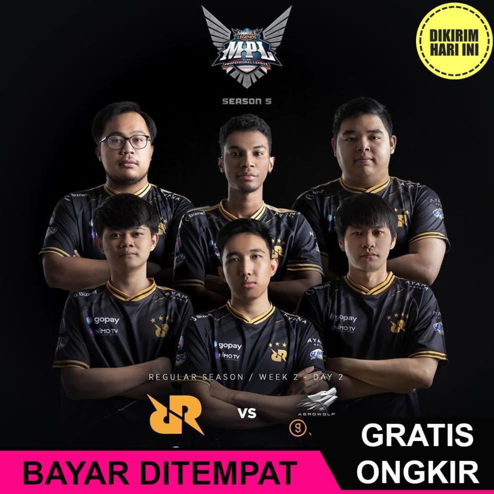 Ja5547 Jersey Rrq Black 2020 Jersey Team Rrq Free Nickname Kaos Baju Jersey Gaming Pubg Ml Ff Shopee Indonesia