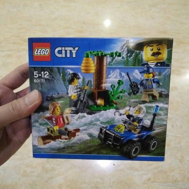 Lego City Polisi Hutan Ilegal Logging 60171 Lego Original Sni Misb Shopee Indonesia