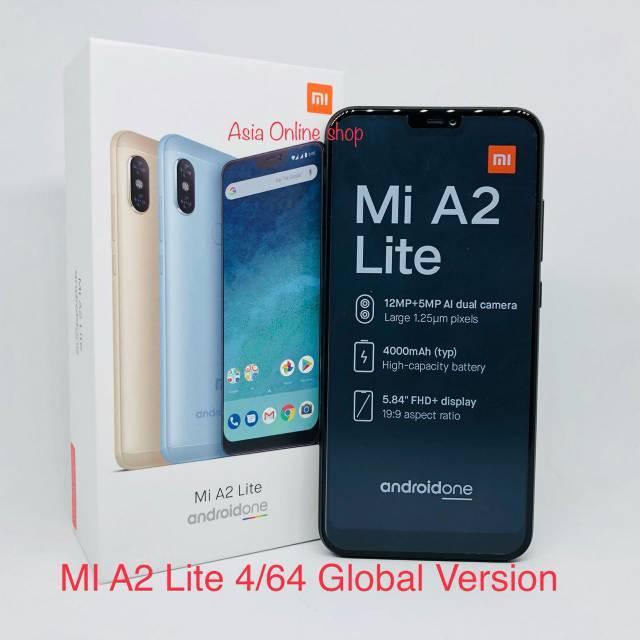 Xiaomi Mi A2 Lite Ram 4gb Rom 64gb Garansi 1 Tahun Distributor