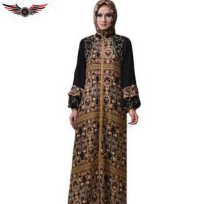 Baru01 Alziyad A9211 Abaya Hikmat/Gamis/ Syari / Hitam / Muslimah / Fashion