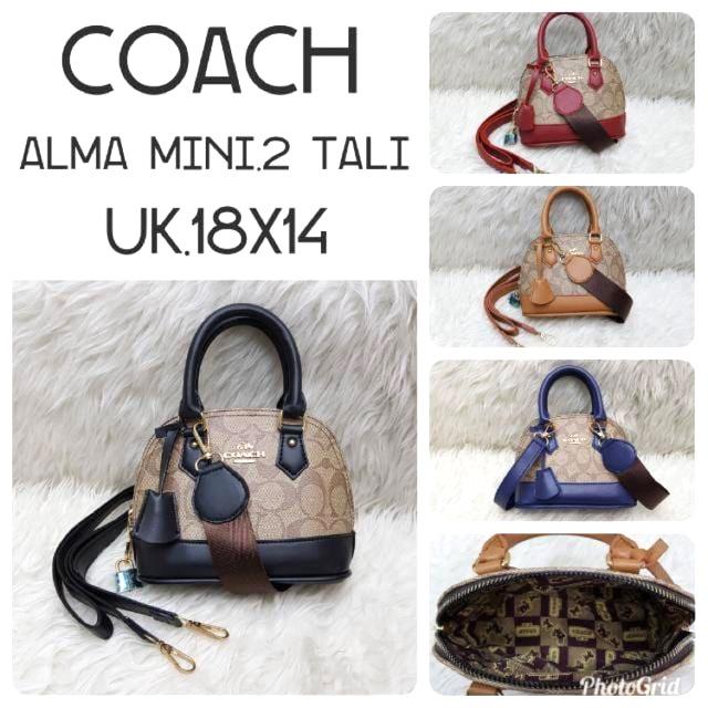 3aa70d2af8b1 TAS WANITA COACH ALMA MINI | Shopee Indonesia