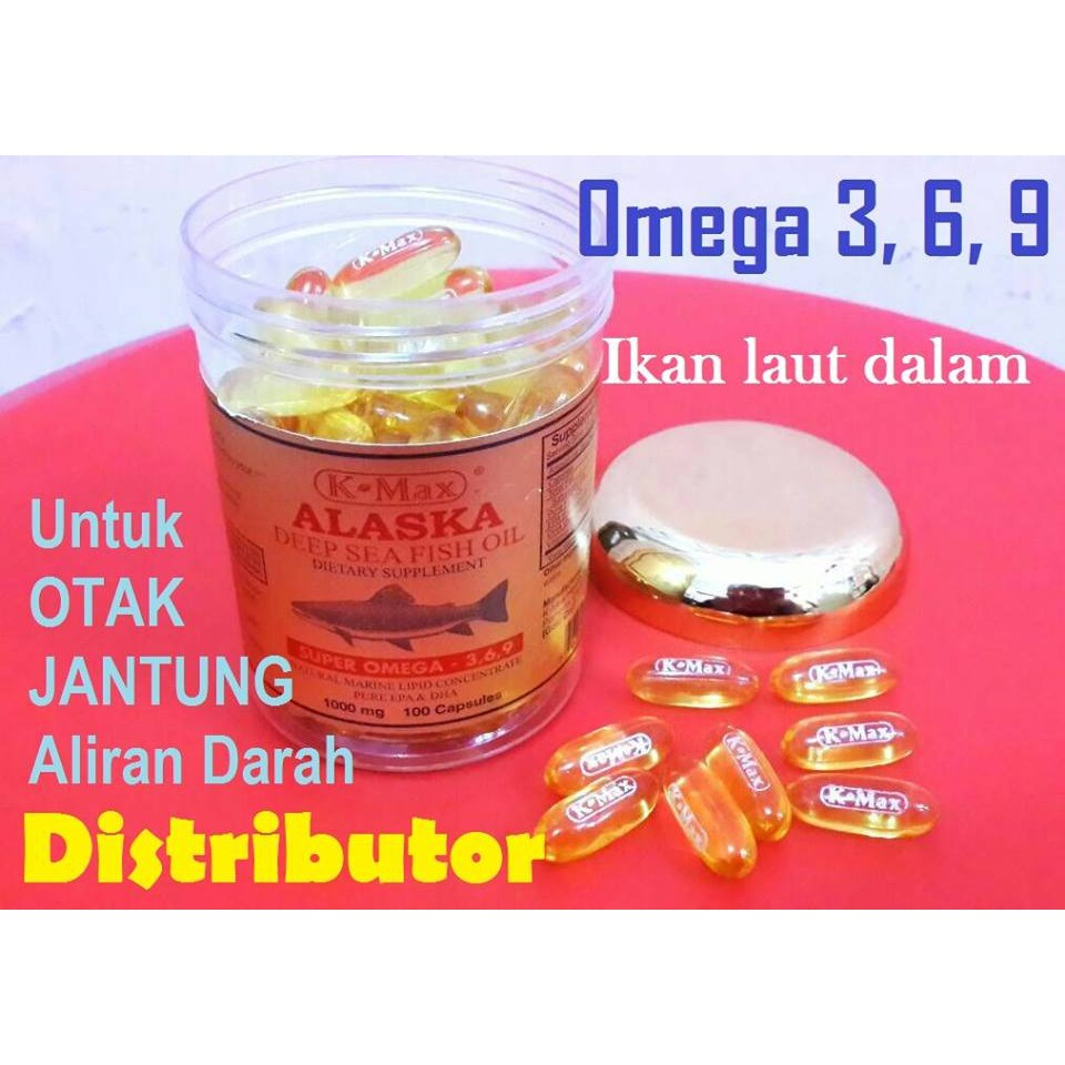 K Omega Squa Omegasqua Plus 30 Sg Minyak Ikan Fish Oil 3 Klink Natural Vitamin E Ocean King Shopee Indonesia