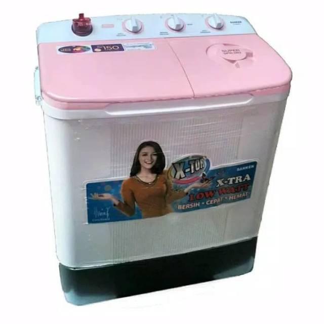 Mesin Cuci 2 Tabung Sanken TW- 8660. 8KG.