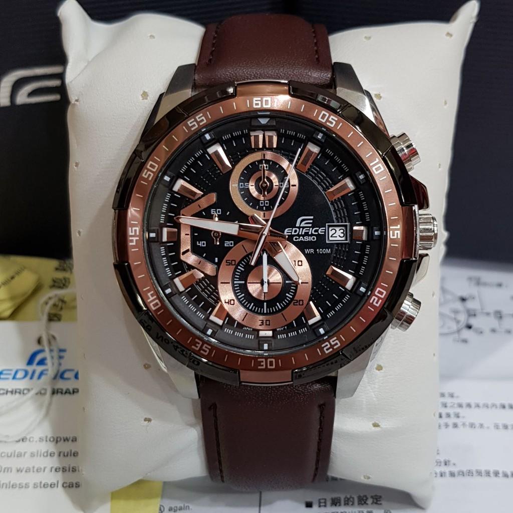 Promo Jam Tangan Casio Edifice Efr 303 Shopee Indonesia Ediface 303l