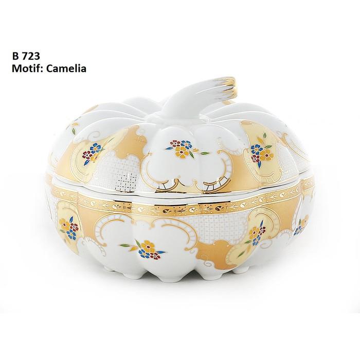 Toples Unik Vicenza dengan motif Camelia terdiri dari 5 toples yang trendi dan keren | Shopee Indonesia