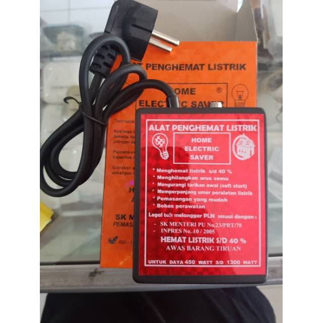 Penghemat Listrik 25-45% Utk 1300W HANNESC Power Saver Teknologi Jerman | Shopee Indonesia