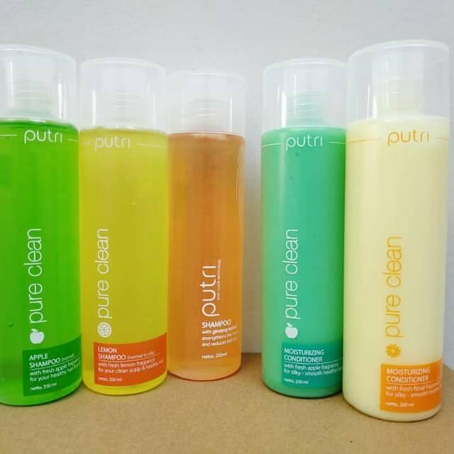 PUTRI PURE CLEAN SHAMPOO, 200 ML