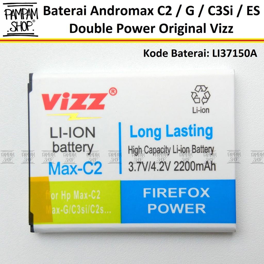 Baterai Vizz Original Double Power Modem Smartfren Mifi Andromax M3y Mi Fi M2y M3z M3s H15418 Wifi Batre Shopee Indonesia