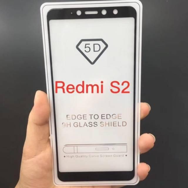 Tempered Glass Warna colour color FULL Xiaomi Redmi 4A, Redmi 4 Pro, Redmi 5A