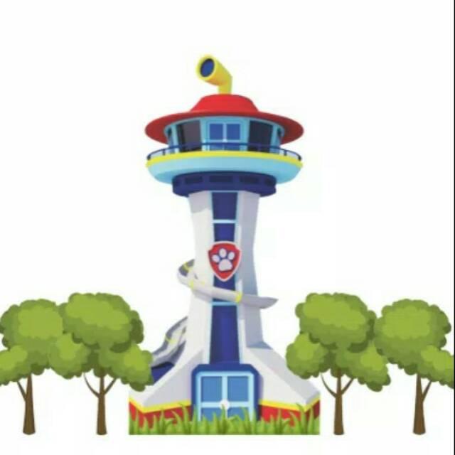 tower paw patrol  shopee indonesia