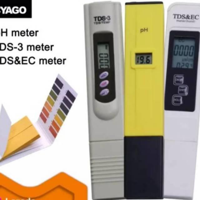 Pilih Ph Meter Air Digital Akurasi 0 1ph Tds3 Dan Tds Ec Meter