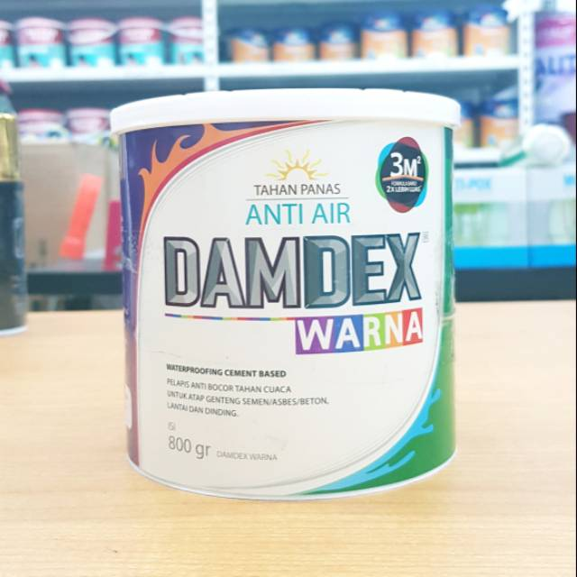 Damdex Warna 0 8 Kg Shopee Indonesia