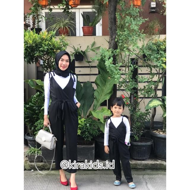 Baju Jumpsuit Couple Ibu Dan Anak