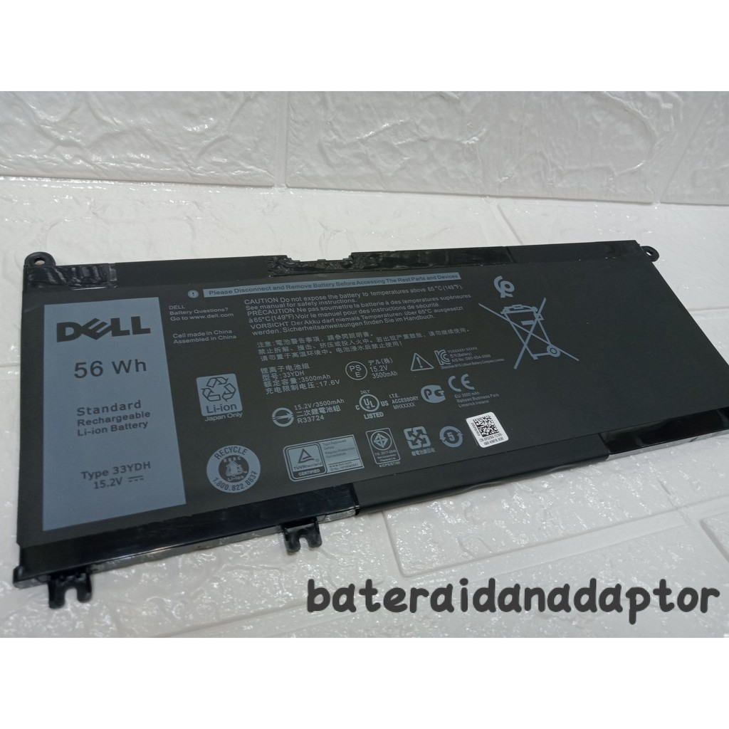 Baterai Dell Lattitude 3380 33YDH Original | Shopee Indonesia