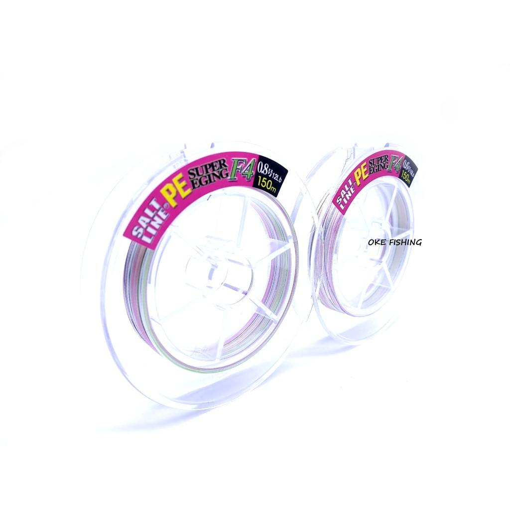 Senar PE Toray Super Eging Pe 0.6 - 0.8 150m Made In Japan