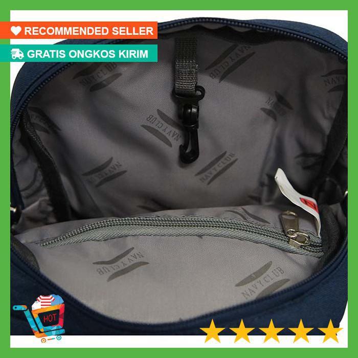 Navy Club Tas Selempang Travel Sling Bag Waterproof  ad67913f9d