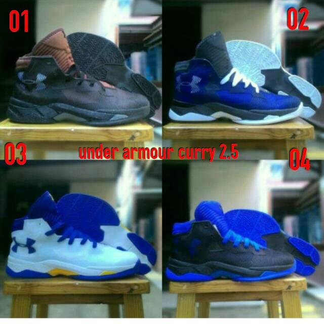 Sepatu basket under armour curry III Premium BNIB 2  a067dff400