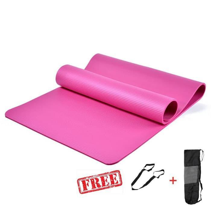 Ramah Lingkungan Shopee Indonesia Source · Perlengkapan Olahraga Matras Yoga 10MM Anti Slip .