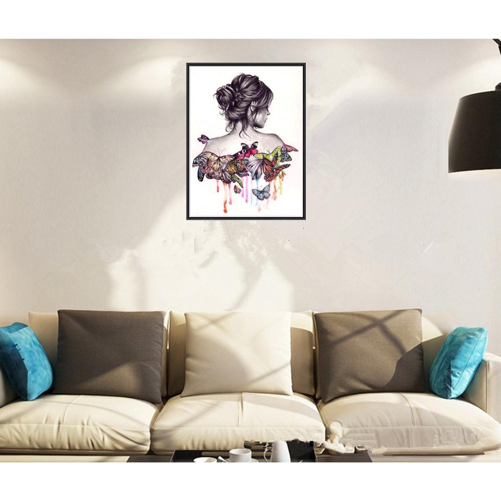 Diy Lukisan Diamond 5d Dengan Gambar Singa Untuk Hiasan Dinding