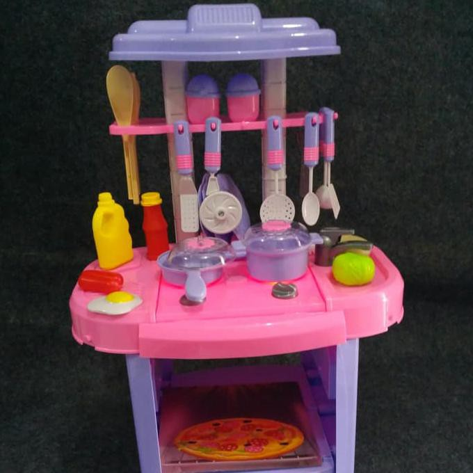 Baru Mainan Anak Masak Masakan Kitchen Fashion Cooking Game Shopee Indonesia
