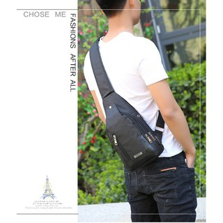 Tas Selempang Oxfort USB Sling Bag IMPORT AC232