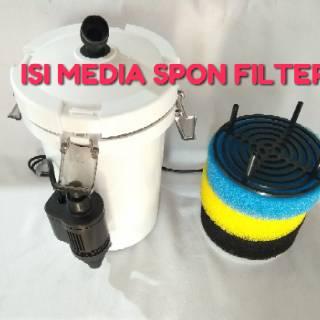 Pompa aquarium external filter TOPKA LW 603B   Shopee ...