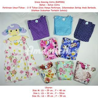 Dress Catra Kancing Atasan Baju Pakaian Anak Perempuan Cewek Murah Kids -  Dress Anak - Baju cea2ccea4e