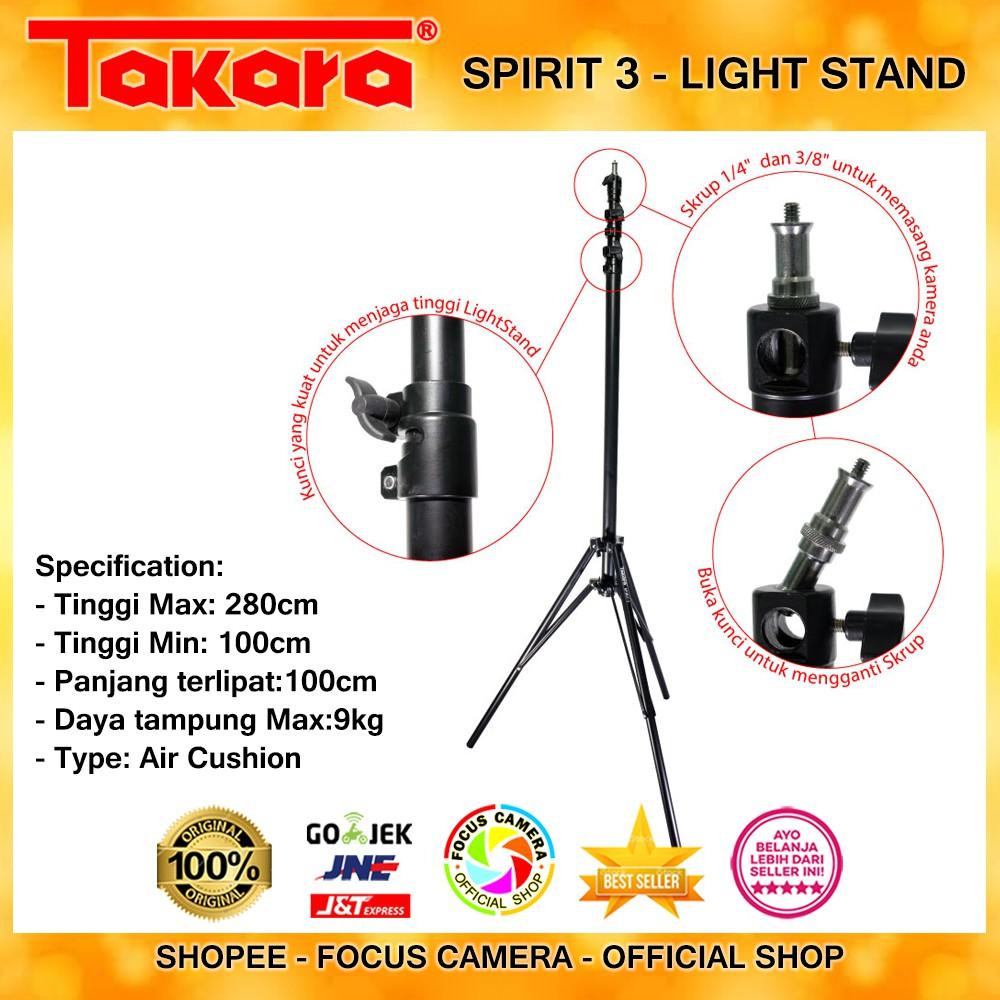 Light Stand Takara Spirit 1 Kaki Lampu Studio Gs200 Excell Pro Motes 3 Tripod Tipe Air Cushion Pegas Angin Flashweifeng Shopee Indonesia