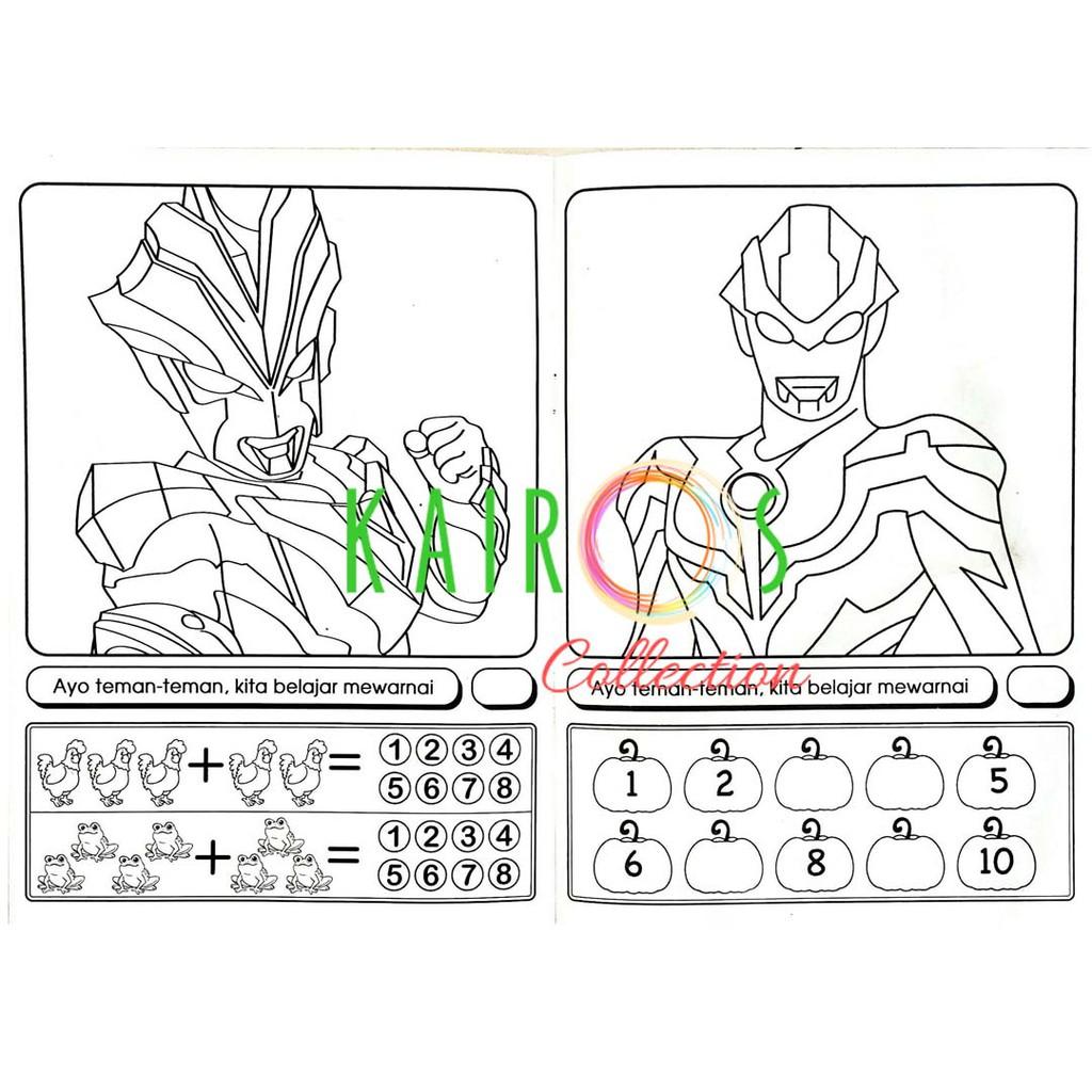 Buku Mewarna Besar Seri Ultraman