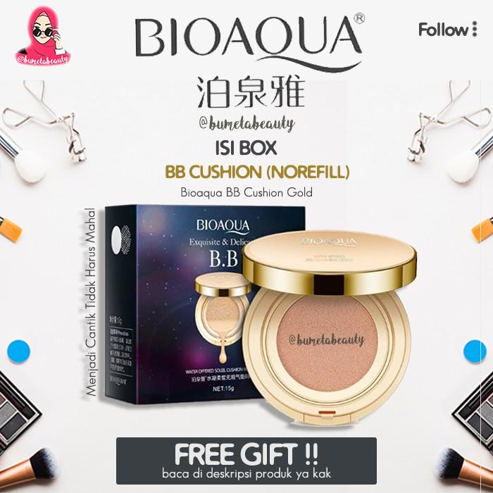 Bdg Bioaqua Bb Gold 2in1 Cushion Liquid Original Best Seller