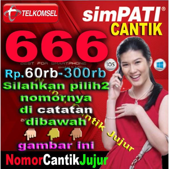 Nomor Cantik Telkomsel Simpati Hexa 1 Double Triple 1 alias 111111   Shopee Indonesia