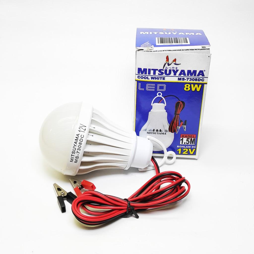 Jual Mitsuyama Bohlam Lampu Led Sensor Suara 10 Watt Update 2018 Tepuk Dc 12v 8w Shopee
